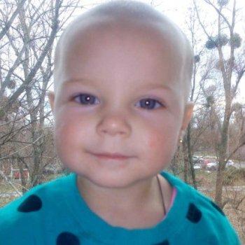 Перед самым Рождеством в сумской онкогематологии появилась еще одна малышка – Крывошей Аленка из Ахтырки